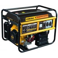 генератор бензиновый 6,0/6.5 квт 4-х тактный электрозапуск Sigma