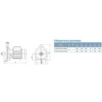 насос aquatica xcm25/160a центробежный поверхностный 1.5квт 36.5м 240л/мин Aquatica LEO