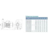 насос ac300ch2 центробежный 380в 3,0квт 37.5м 450л/мин 2 leo 3,0 Aquatica LEO