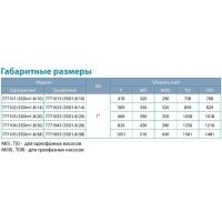 насос aquatica 3sdm1.8/20 центробежный погружной 0.55квт н85м 45л/мин ø75мм Dongyin