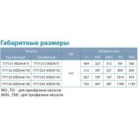 насос aquatica 4sdm4/10 центробежный погружной 0.75квт н70м 100л/мин ø96мм Dongyin