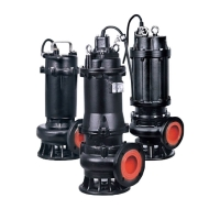 насос канализационный 50wq8-16-1.1 380в 1.1квт hmax 18м qmax 483л/мин leo 3.0(7738123)