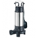 насос канализационный v1300df aquatica 1,3квт hmax 11,9м 300л/мин с ножом Aquatica LEO