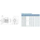 насос acm400c2 центробежный 4,0квт 38.5м 900л/мин 2 leo 3,0 Aquatica LEO