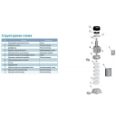 насос aquatica центробежный многоступенчатый вертикальный evpm2-6 (775445) Aquatica LEO