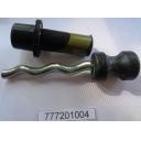 Шнек в сборе (хромированная сталь) для 777201
