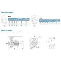 насос xstm32-160/15 центробежный 1,5квт hmax 23,7м qmax 300л/мин leo 3.0 Aquatica LEO